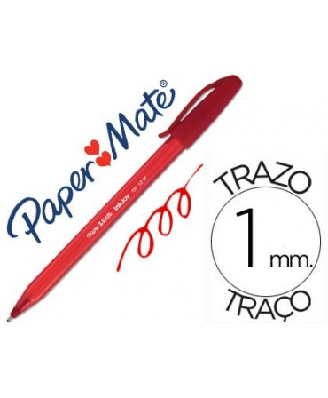 PAPER MATE BOLIGRAFO INKJOY 100 NEGRO TRAZO 0.4 MM 50UD S0957120
