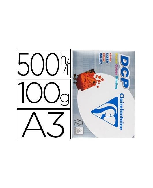 PAPEL FOTOCOPIADORA CLAIREFONTAINE DIN A3 100 GRAMOS PAQUETE DE 500 HOJAS