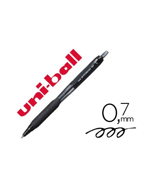 BOLIGRAFO UNIBALL JETSTREAM RETRACTIL SXN-101 0