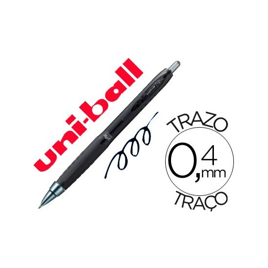 BOLIGRAFO UNI-BALL ROLLER UMN-307 RETRACTIL 0