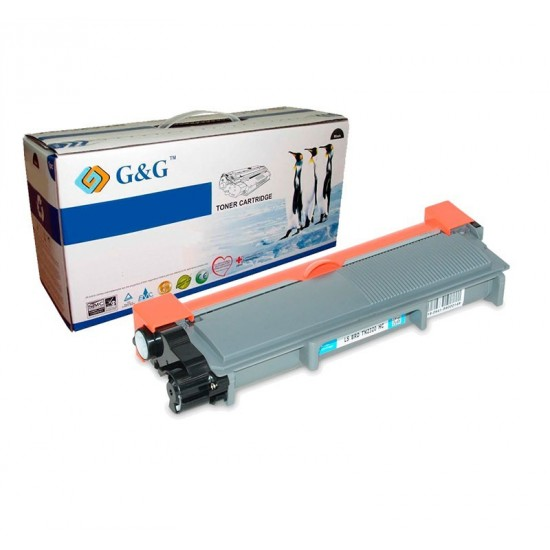G&G TN2310 / TN2320  NEGRO CARTUCHO DE TONER GENERICO BROTHER
