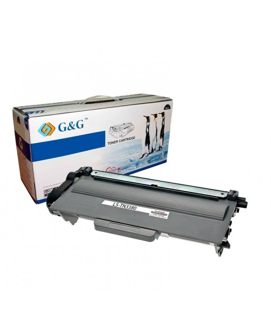 G&G TN3330 / TN3380  NEGRO CARTUCHO DE TONER GENERICO BROTHER