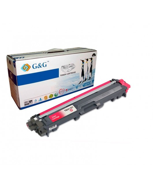 G&G BROTHER TN241M / TN245M / TN242M /TN246M  MAGENTA CARTUCHO DE TONER GENERICO BROTHER
