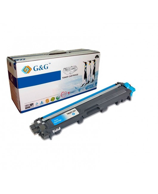 G&G BROTHER TN241C / TN245C / TN242C / TN246C  CYAN CARTUCHO DE TONER GENERICO BROTHER