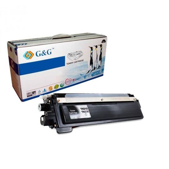G&G TN230BK NEGRO CARTUCHO DE TONER GENERICO BROTHER