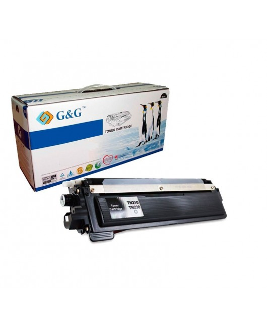 G&G TN230BK NEGRO CARTUCHO DE TONER GENERICO BROTHER