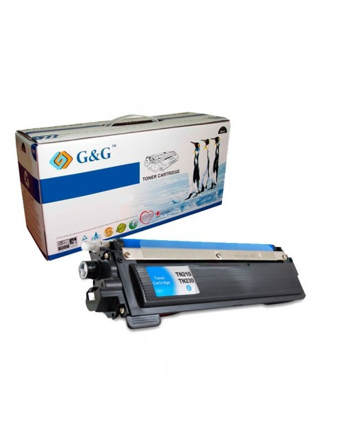 G&G TN230C CYAN CARTUCHO DE TONER GENERICO BROTHER