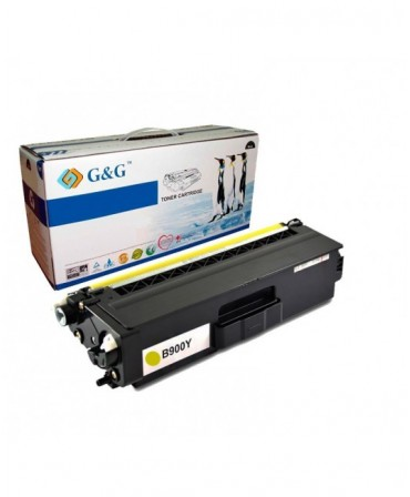 G&G TN900Y AMARILLO CARTUCHO DE TONER GENERICO BROTHER
