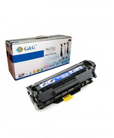 G&G HP Q2612A NEGRO CARTUCHO DE TONER GENERICO Nº12A
