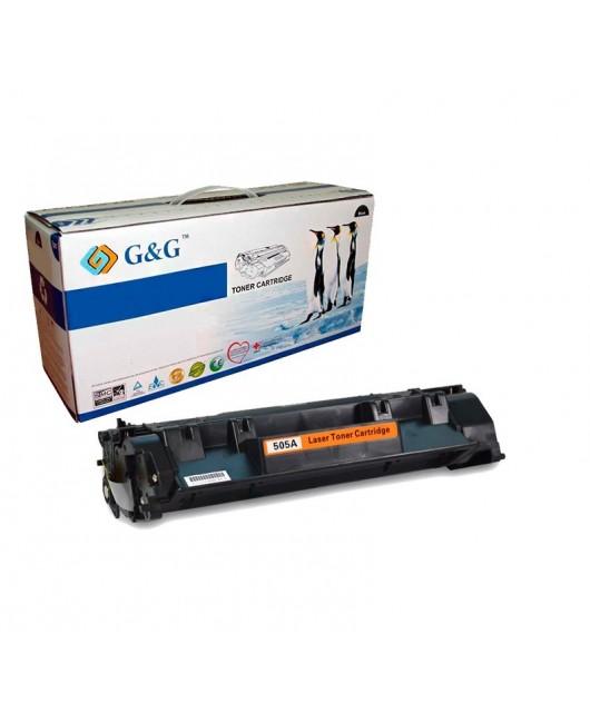 G&G HP CE505A NEGRO CARTUCHO DE TONER GENERICO Nº05A