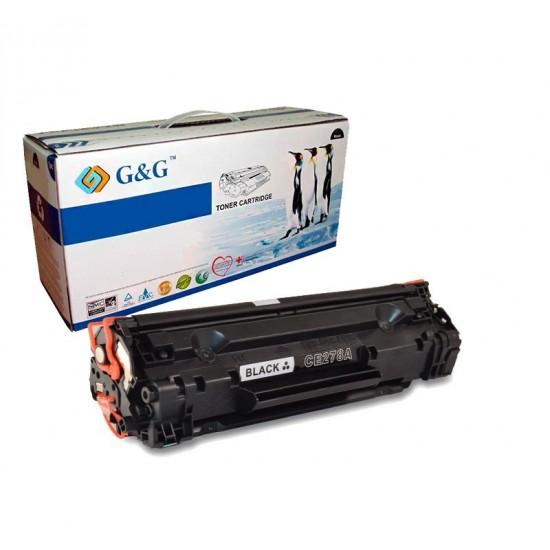 G&G HP CE278A NEGRO CARTUCHO DE TONER GENERICO Nº78A