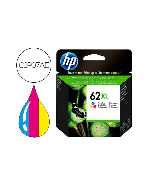 INK-JET HP ENVY 5640 / 7640 OFFICEJET 5740 N.62 XL TRICOLOR 415 PAG