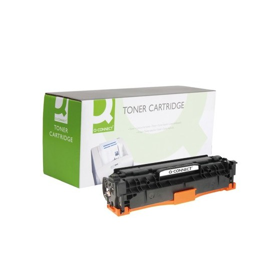 TONER Q-CONNECT COMPATIBLE HP CC532A PARA COLOR JET CP2520/CM2320 MFP -2.800PAG- MAGENTA