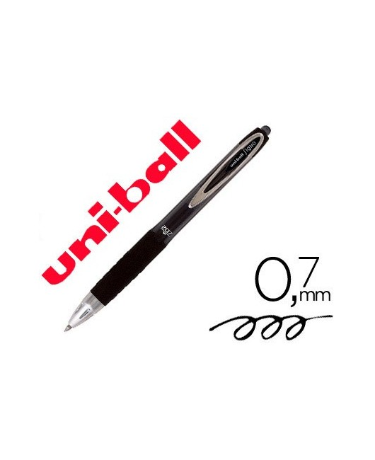 BOLIGRAFO UNI-BALL ROLLER UMN-207 RETRACTIL 0