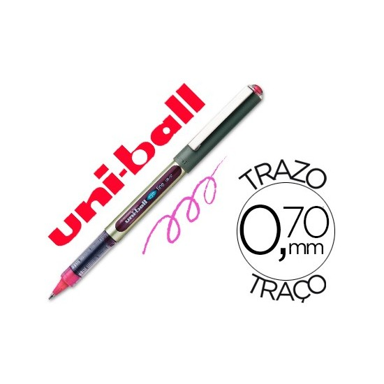 ROTULADOR UNI-BALL ROLLER UB-157 ROSA 0
