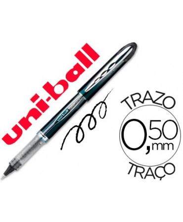 ROTULADOR UNI-BALL ROLLER UB-205 VISION NEGRO 0