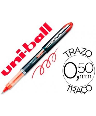 ROTULADOR UNI-BALL ROLLER UB-205 VISION ROJO 0