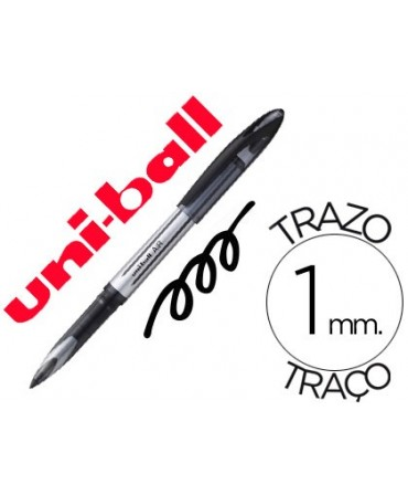 BOLIGRAFO UNI-BALL ROLLER AIR UB-188-L 1 MM TINTA LIQUIDA NEGRO