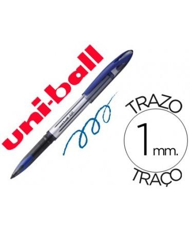 BOLIGRAFO UNI-BALL ROLLER AIR UB-188-L 1 MM TINTA LIQUIDA AZUL