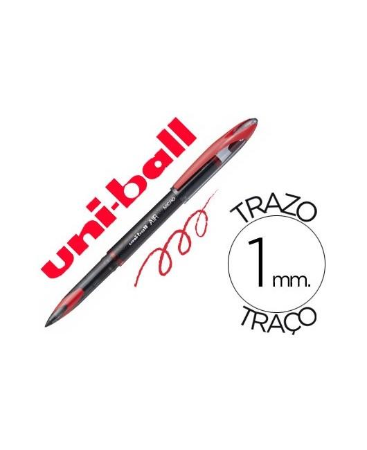 BOLIGRAFO UNI-BALL ROLLER AIR UB-188-L 1 MM TINTA LIQUIDA ROJO