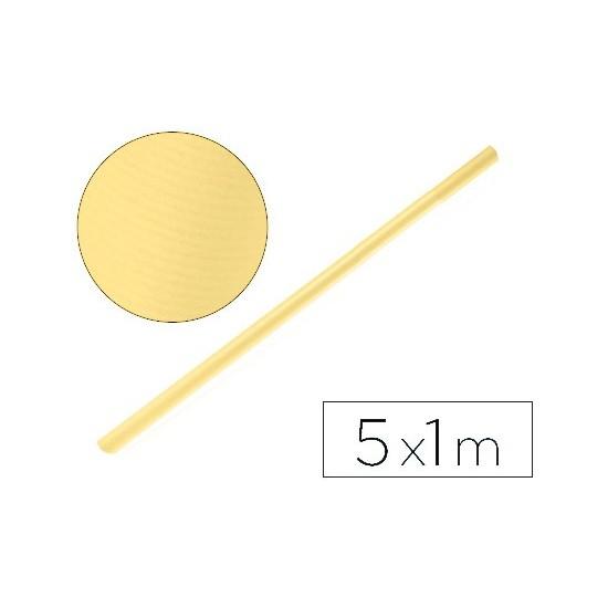 PAPEL KRAFT LIDERPAPEL MIEL ROLLO 5X1 MT