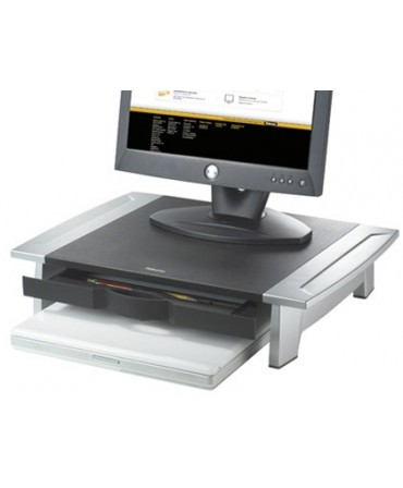 SOPORTE FELLOWES PARA MONITOR TFT OFFICE SUITES AJUSTABLE EN ALTURA CON BANDEJA 100/150X500X364 MM MM COLOR