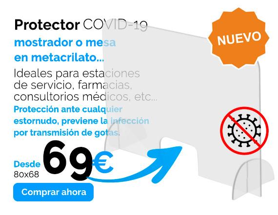 mamparas de proteccion metacrilato