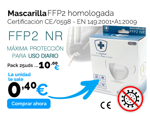 Mascarilla hologada CE2163 FFP2